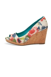 Toms Watercolor Floral Wedge From Minnesota By Apricot