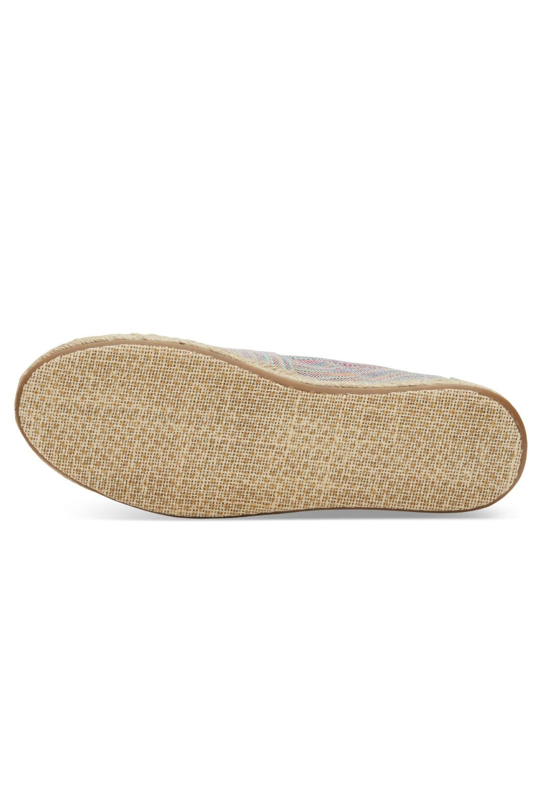 TOMS Rainbow Espadrille Shoes - Side Cropped Image