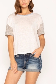 Miss Me Toned Up Tee - Front full body