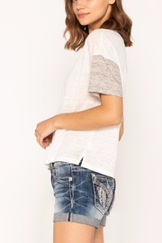 Miss Me Toned Up Tee - Side cropped