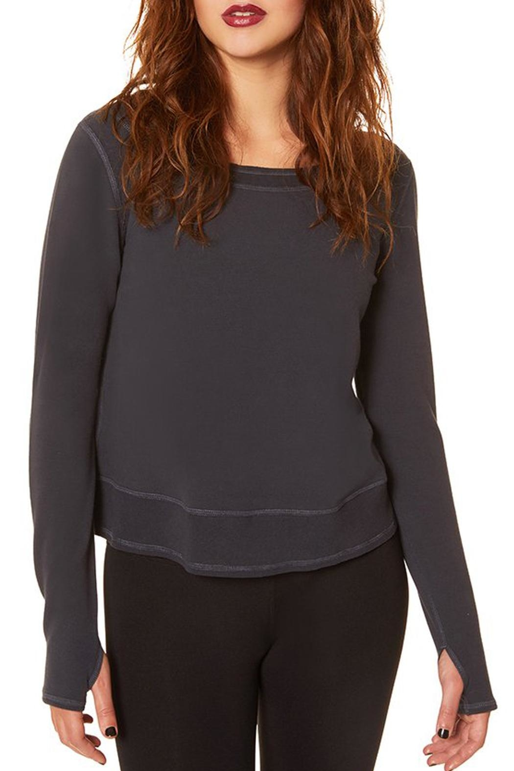 Nancy Rose Toni Sweatshirt - Side Cropped Image