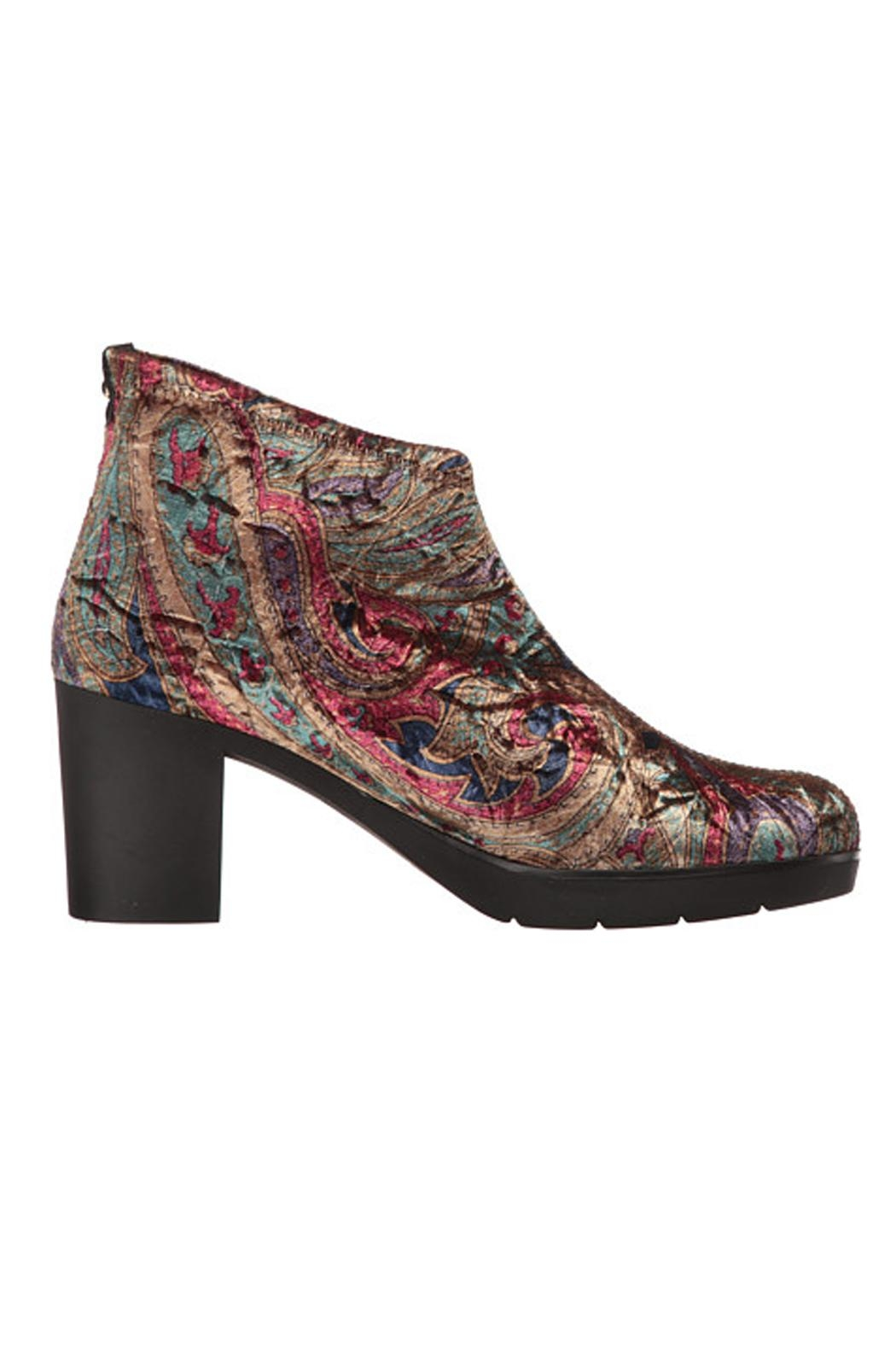 Toni Pons Finley Paisley Bootie - Front Full Image