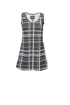 Shoptiques Product: Plaid Tunic Dress