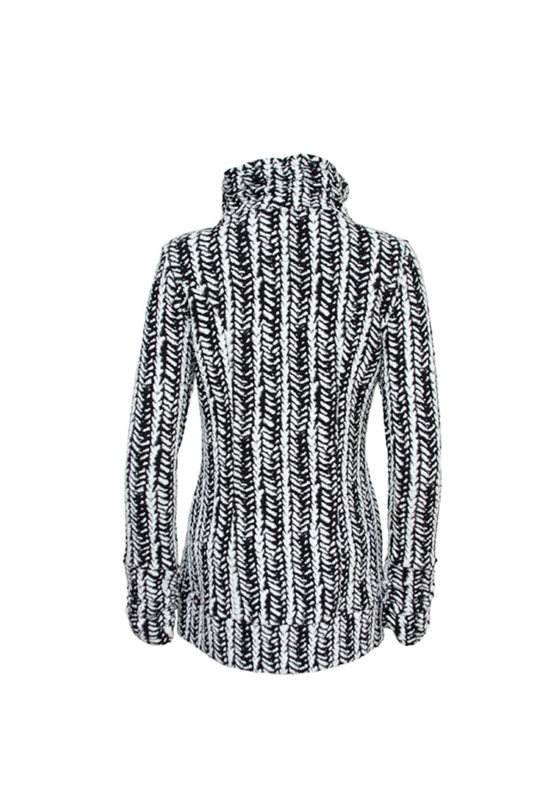 Tonia DeBellis Molly Cable Jacket - Front Full Image