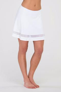 Shoptiques Product: Motion Skirt White
