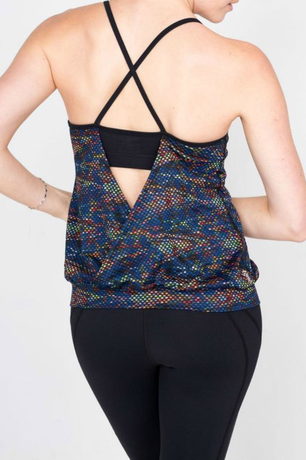 Tonic Active Free Spin Tank - Front Full Image