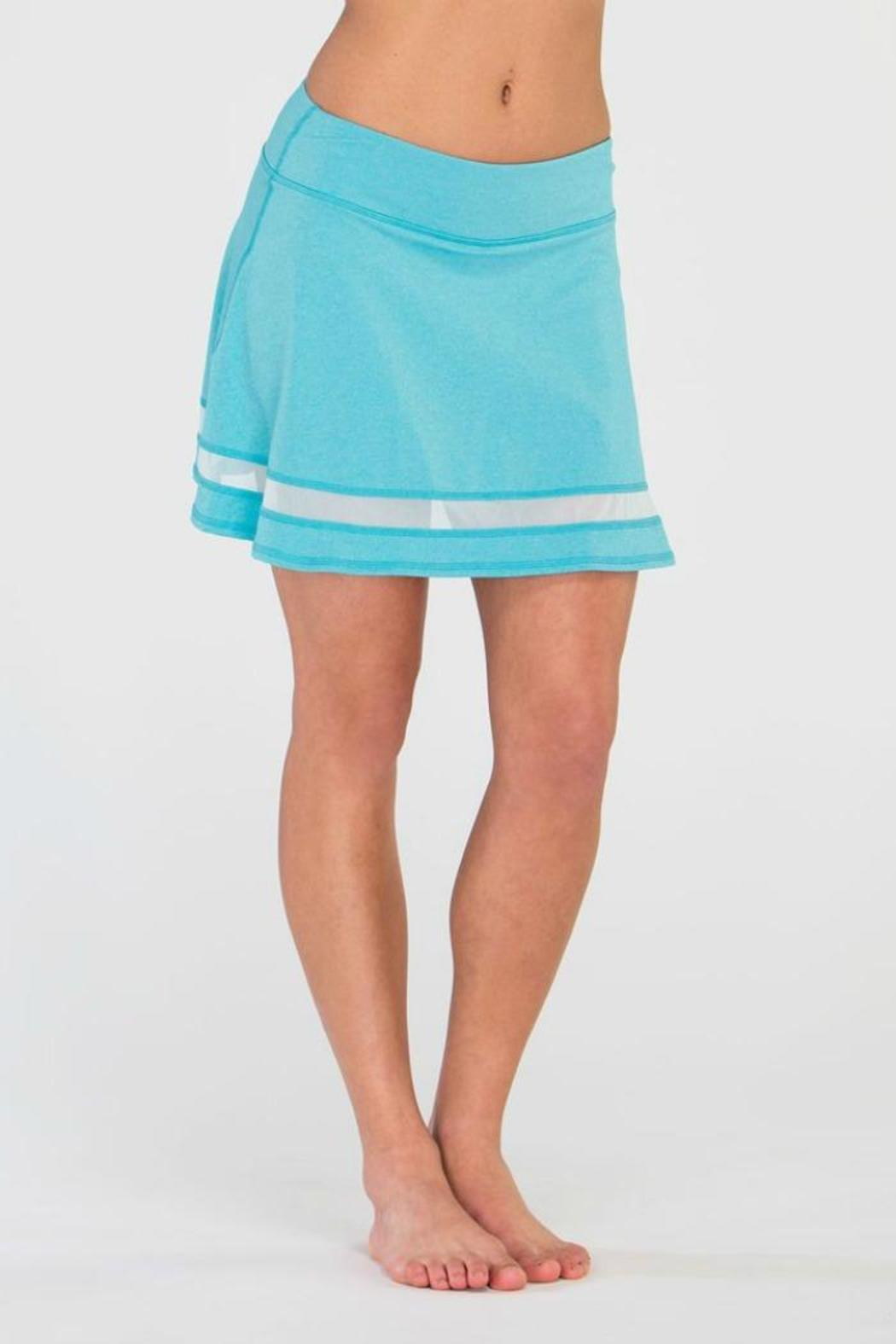 Tonic Active Mesh Inset Skirt - Front Cropped Image