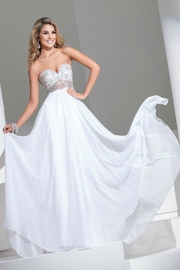Tony Bowls Beaded Illusion Chiffon - Product Mini Image