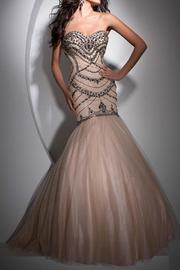 Tony Bowls Tb11691 Mermaid Gown - Product Mini Image