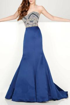 Shoptiques Product: Strapless Satin Mermaid