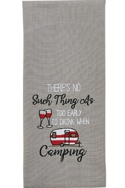Park Designs Too Early to Drink Dish Towel - Product Mini Image