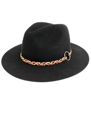Too Too Hat Adjustable Drawstring Panama - Front cropped