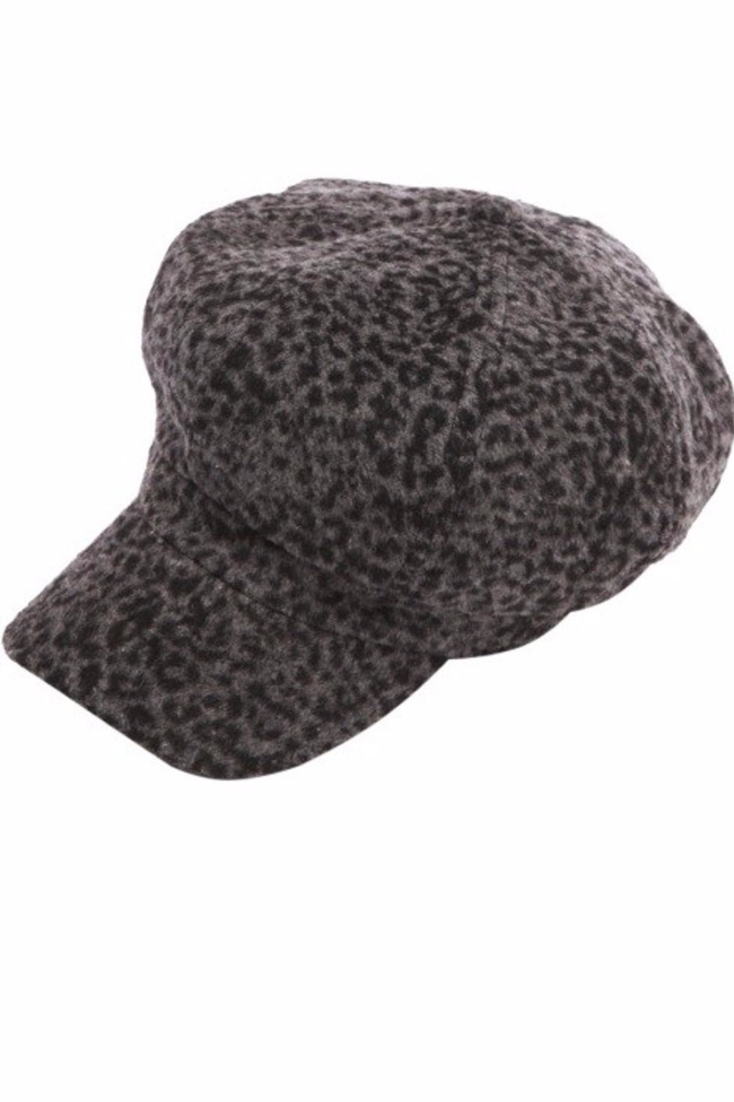 Too Too Hat Animal Print Hat - Front Cropped Image