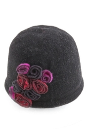 Too Too Hat Beanie With Flowers - Product Mini Image