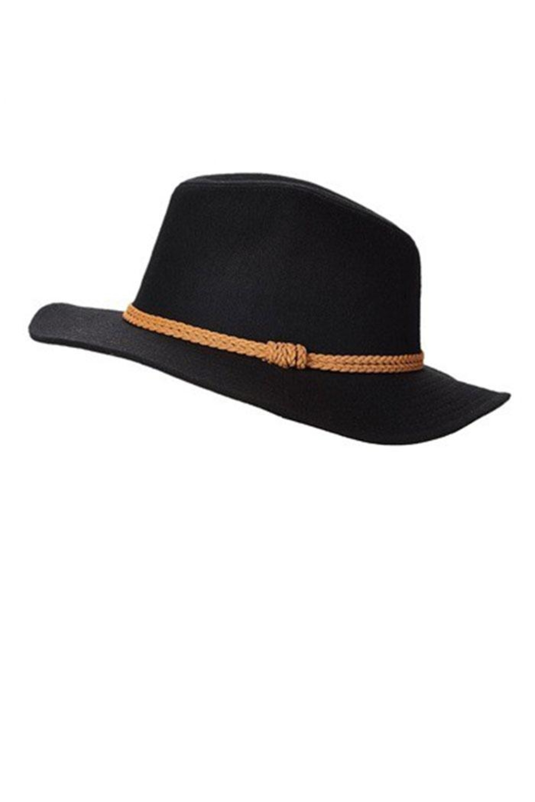 Too Too Hat Braided Band Panama Hat - Front Cropped Image