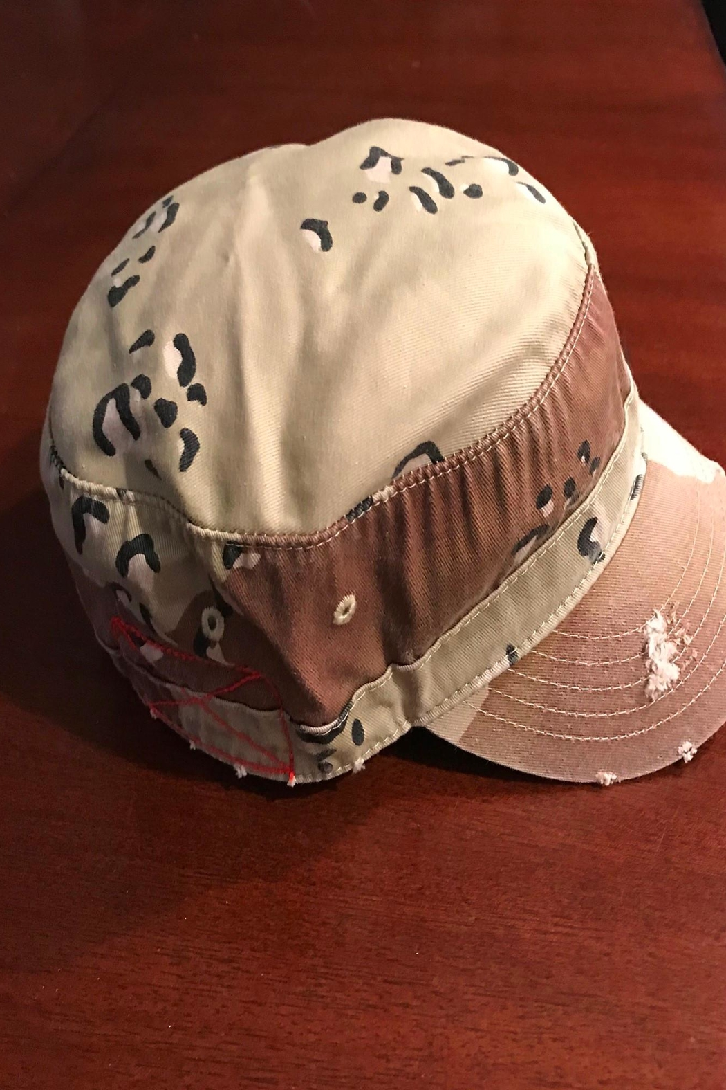 Too Too Hat Camo Military Hat - Side Cropped Image