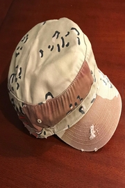 Too Too Hat Camo Military Hat - Front cropped