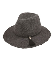 Too Too Hat Classic Panama Hat With Tassel - Front cropped