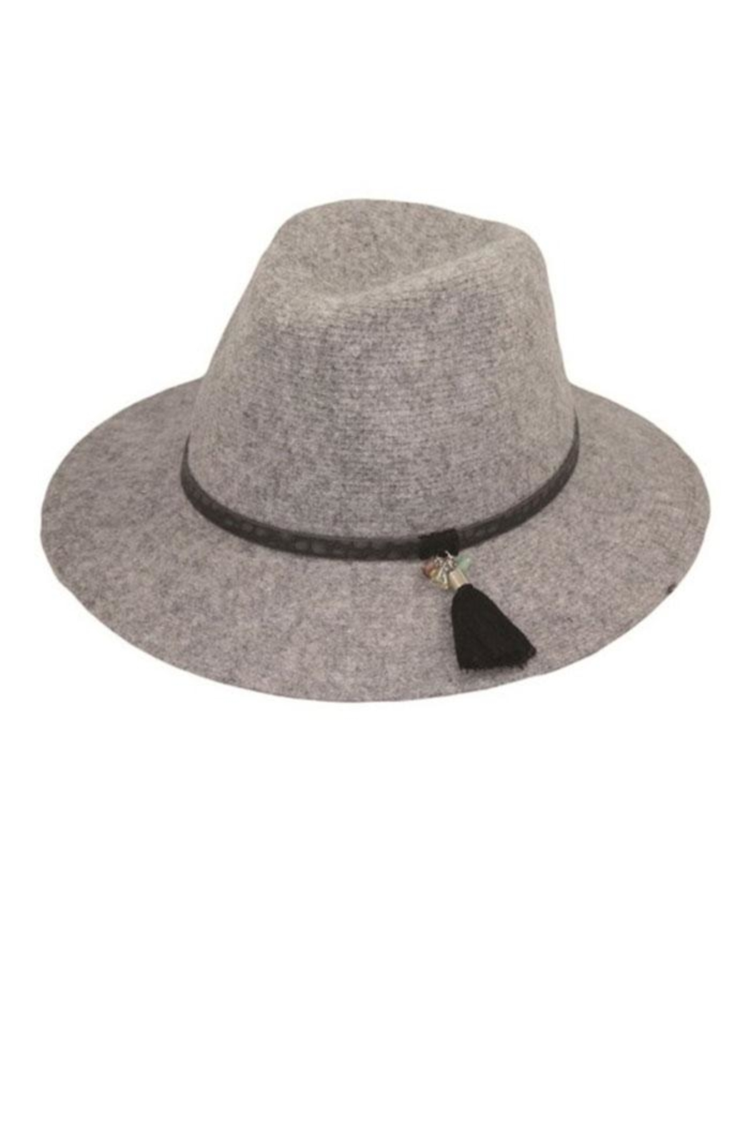 Too Too Hat Classic Panama Hat With Tassel - Front Cropped Image