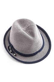 Too Too Hat Fedora With Contrast Color Rope - Front cropped