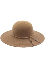 Too Too Hat Floppy Hat With Suede Tie - Product Mini Image