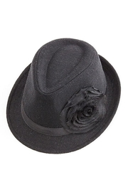 Too Too Hat Flower Accent Fedora - Product Mini Image