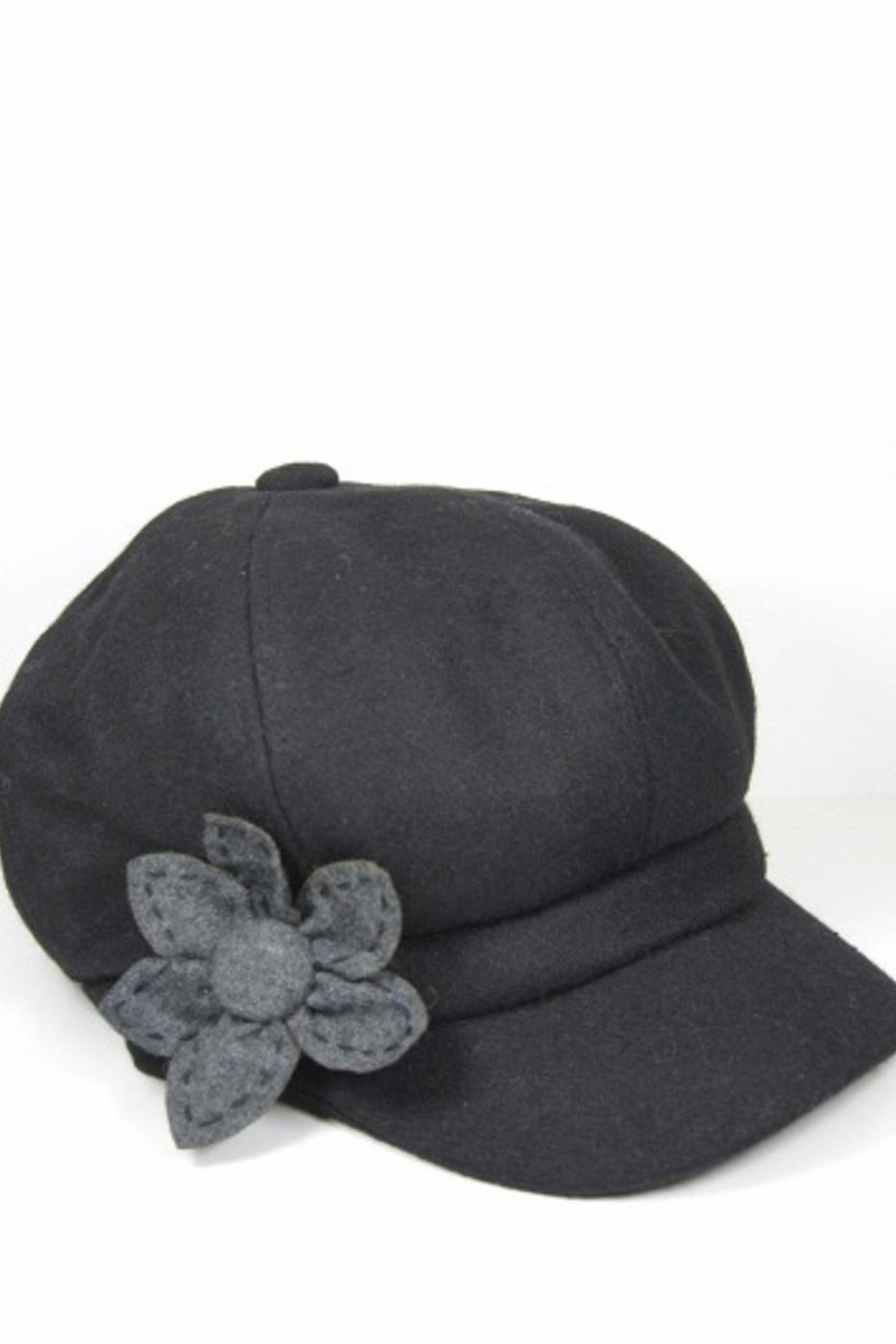 Too Too Hat Hat With Flower - Front Cropped Image
