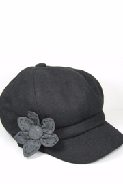 Too Too Hat Hat With Flower - Front cropped