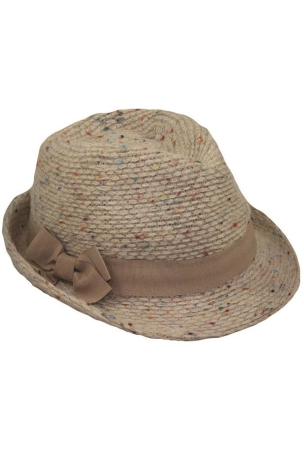 Too Too Hat Multiple Color Fleck Fedora - Main Image