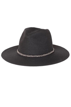 Too Too Hat Panama Hat With Matching String Tie - Alternate List Image