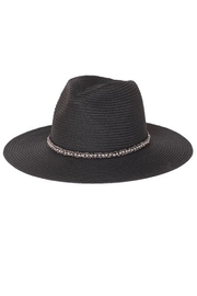Too Too Hat Panama Hat With Matching String Tie - Front cropped