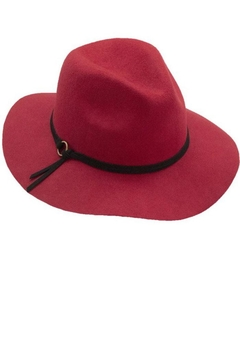 Too Too Hat Panama With Faux Suede Strap - Alternate List Image