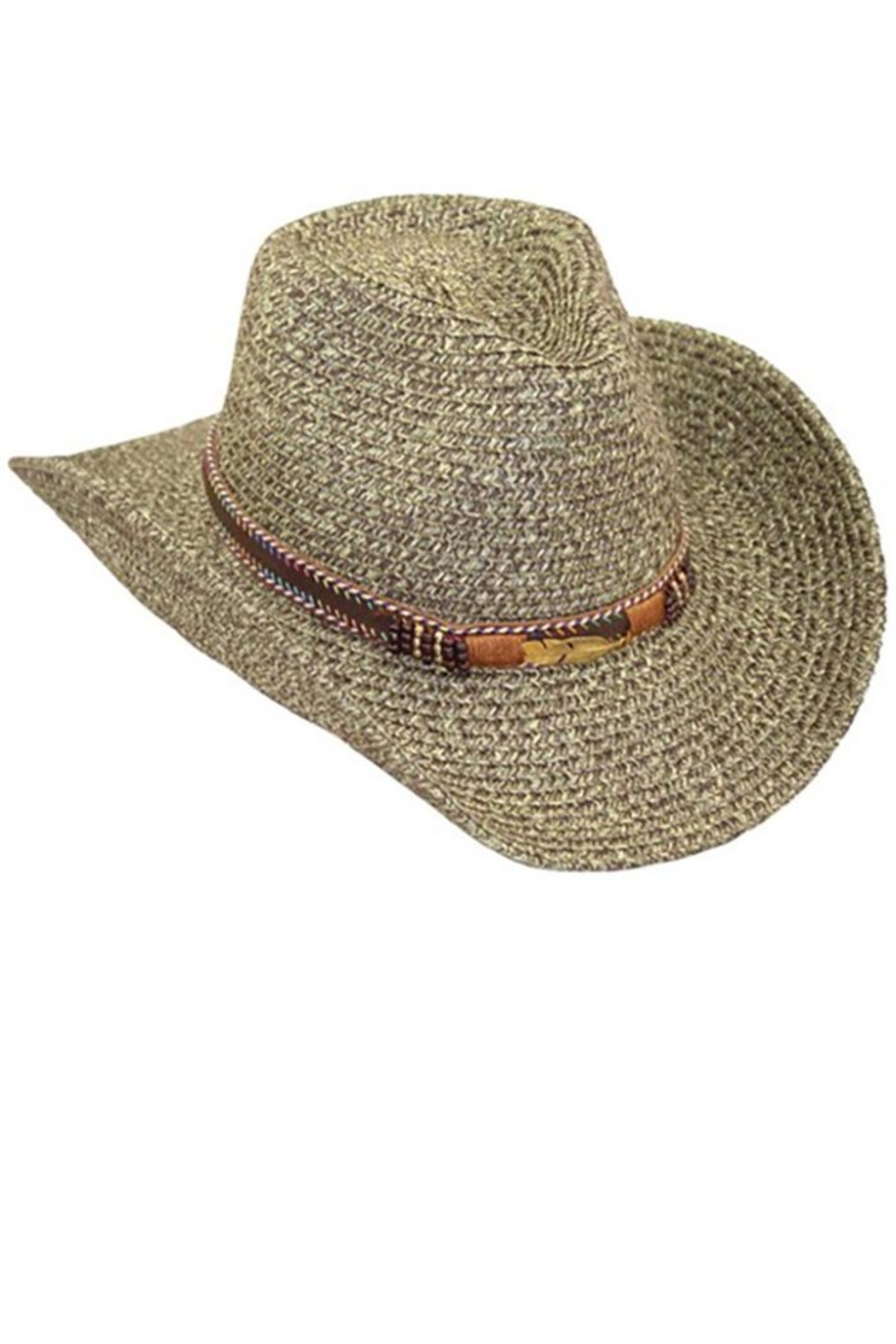 Too Too Hat Tribe Band Cowboy Hat - Main Image