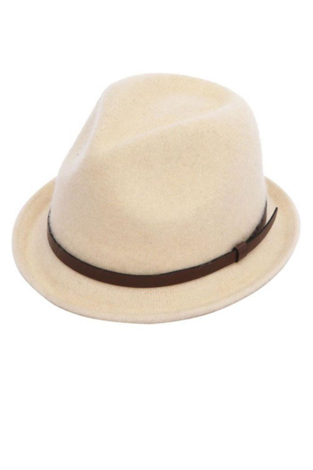 Too Too Hat Wool Blend Winter Fedora - Front Cropped Image