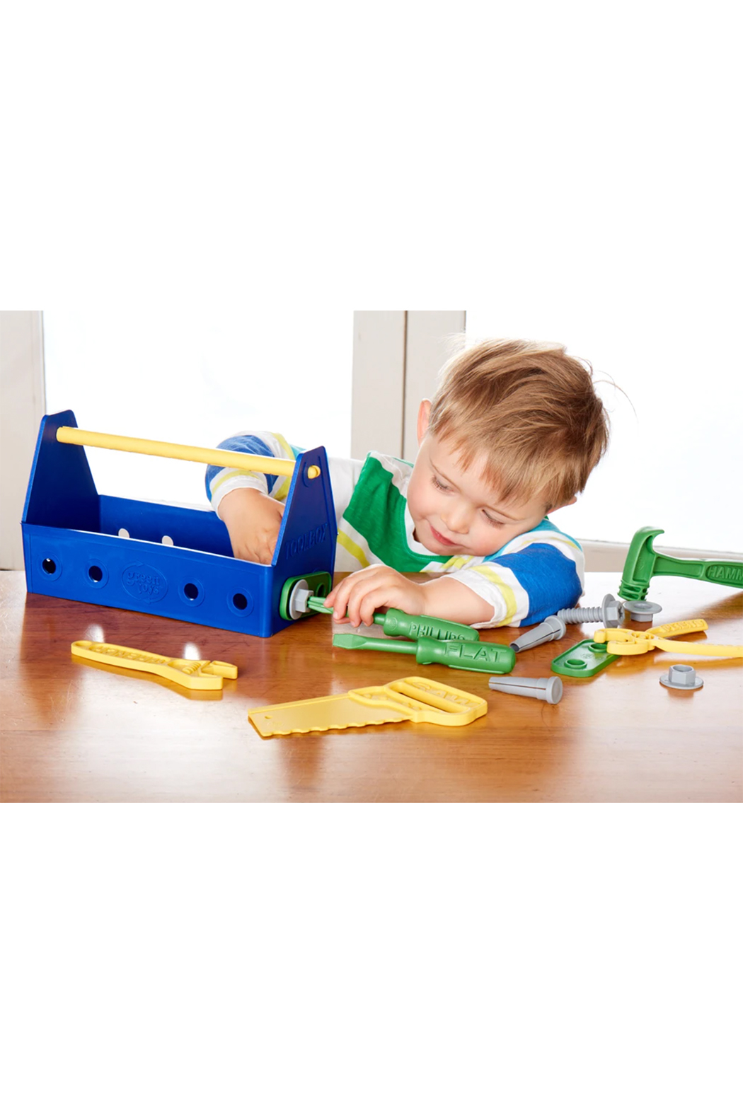 Green Toys Tool Box - Side Cropped Image