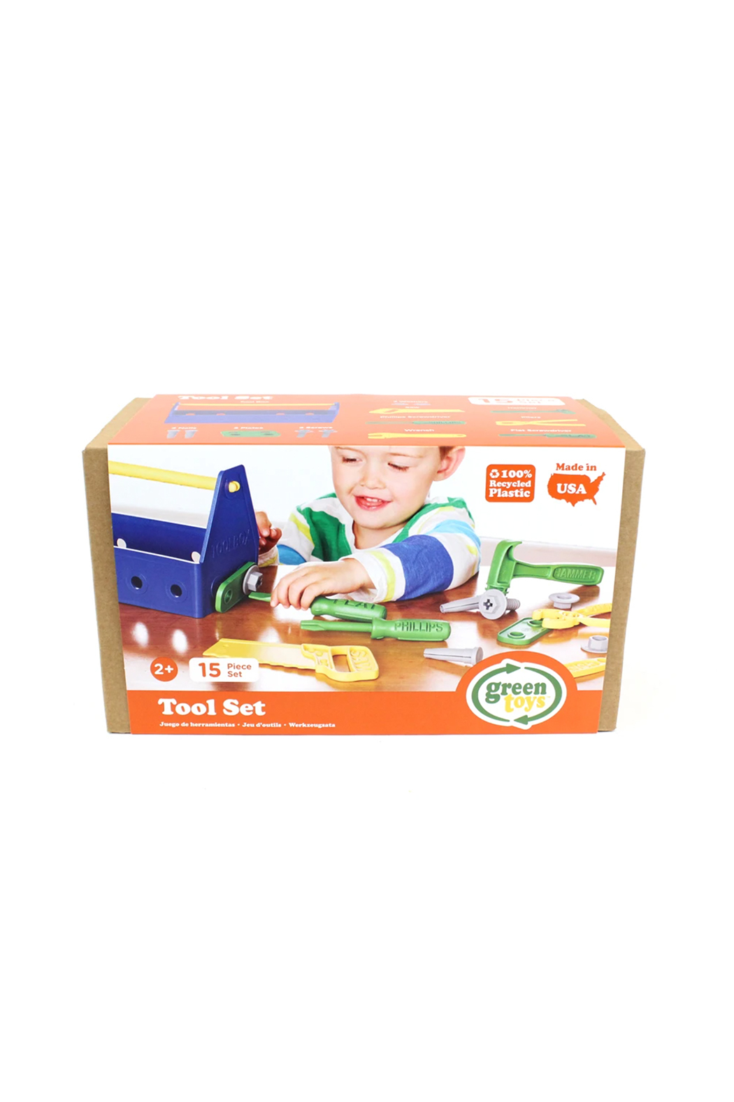 Green Toys Tool Box - Front Full Image