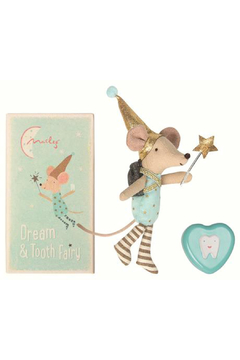 Maileg Tooth Fairy Big Brother Mouse with Metal Box - Alternate List Image