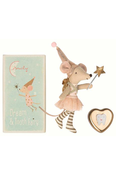Maileg Tooth Fairy Big Sister Mouse with Metal Box - Alternate List Image