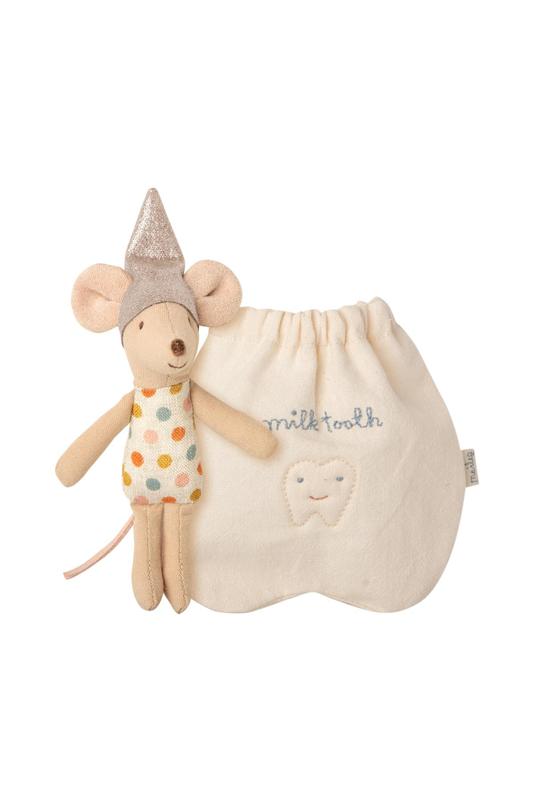 Maileg Tooth Fairy Mouse, Little - Front Cropped Image