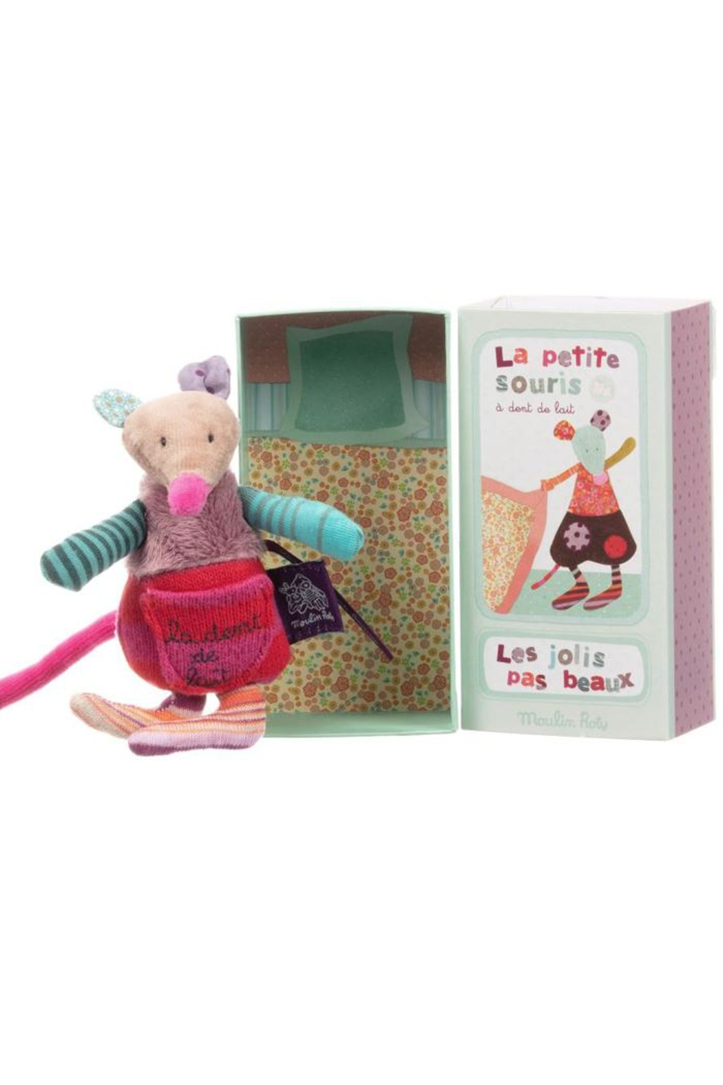 Moulin Roty Tooth Fairy Mouse - Front Full Image