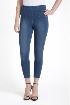 Lysse Toothpick Denim Crop Legging - Product List Image