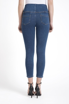 Lysse Toothpick Denim Crop Legging - Alternate List Image