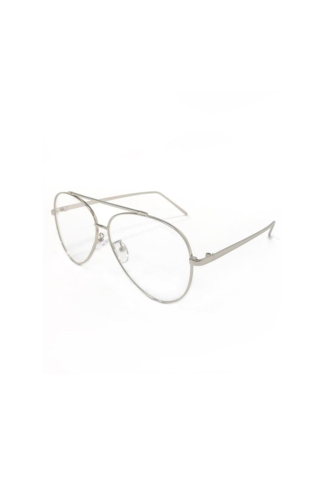top Amelia Bluelight Glasses - Front Full Image