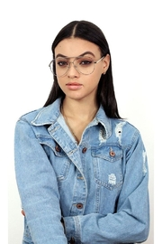 top Amelia Bluelight Glasses - Back cropped
