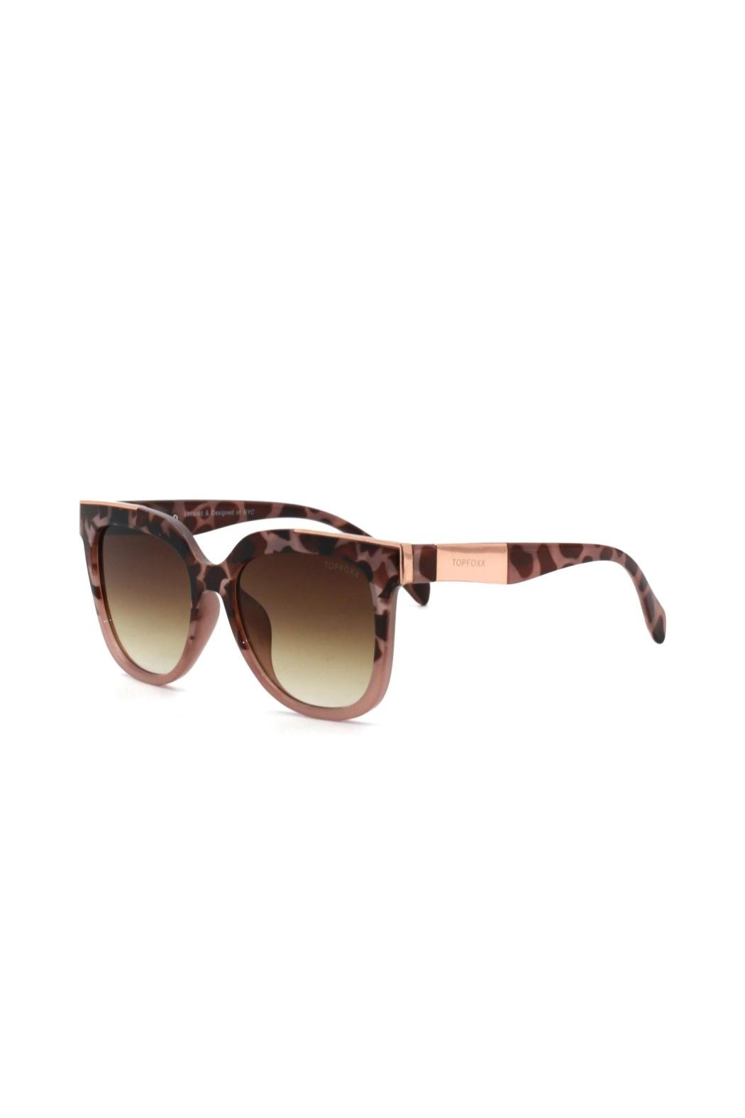 top Coco Sunglasses - Front Full Image