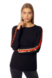 Gypsetters Top Gold Stripes - Front cropped