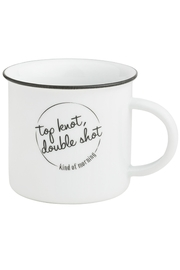 Collins Paintings Top Knot Mug - Front cropped