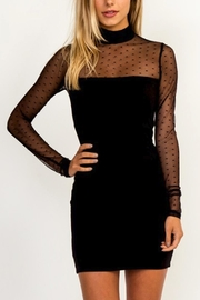 Olivaceous Top-Mesh Bodycon Dress - Product Mini Image