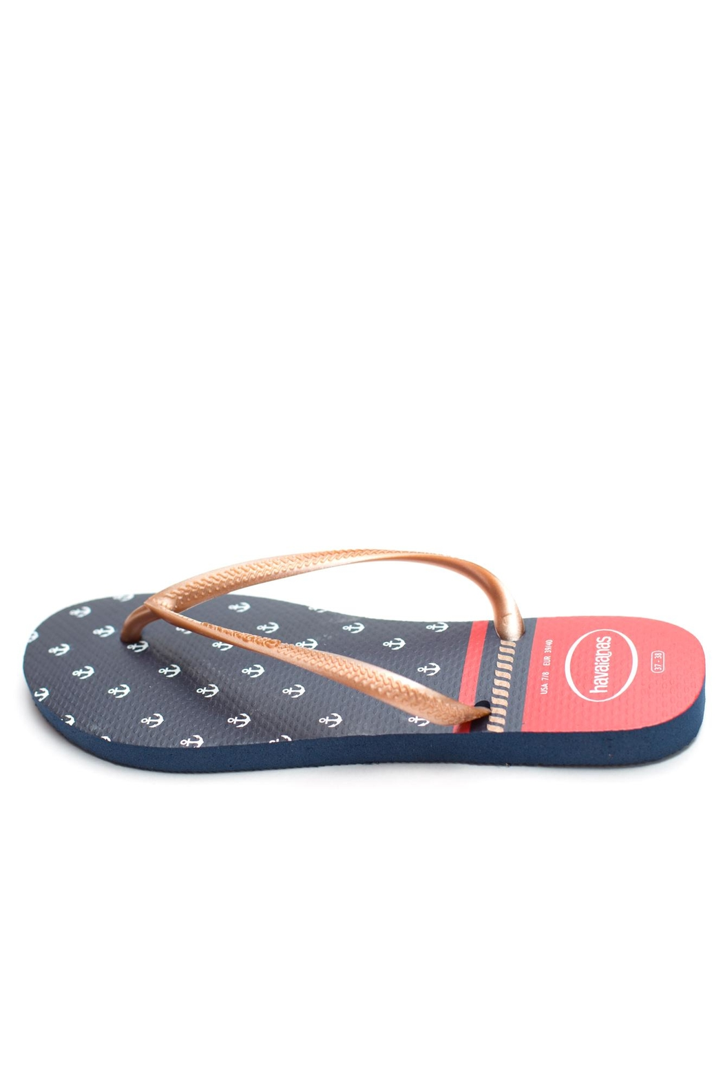 Havaianas Top Nautical Sandal - Front Cropped Image