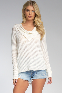 Shoptiques Product: Top Off Thermal Cowl Top